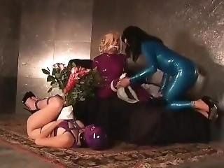 Beautiful Rubber Bondage Girls