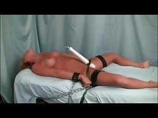 bondage, legata, vibratore