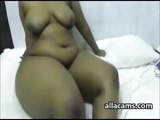 Massive Booty Ebony Webcam