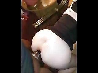 Wife Taking Huge Black Knob
