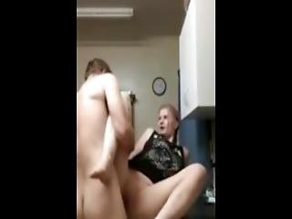 Kitchen Sex And A Creampie