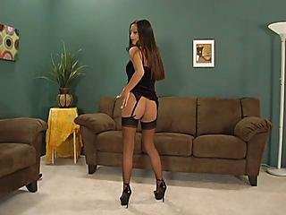 Kina Kai Stockings Over Hose