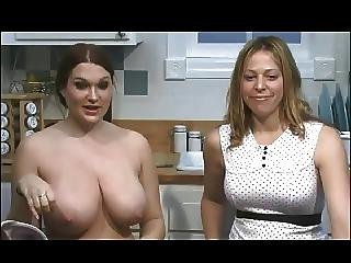 Cassandra Calogera Topless Talk