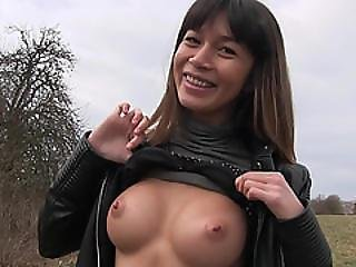 Sexy Russian Mona Kim Fucks For A Fist Full Of Cash