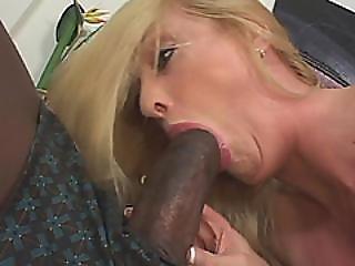 Submissive Blonde Wife Serving Monster Black Dick Husband Hardcore