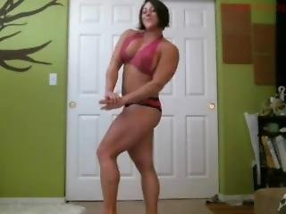 Huge Fbb Posing And Stretching