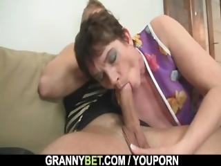 Hot 60 Years Old Woman In Stockings
