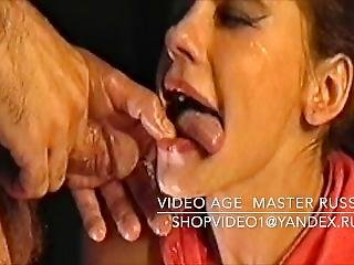 Her Mouth Accepts Not Only Sperm, But Also A Golden Shower