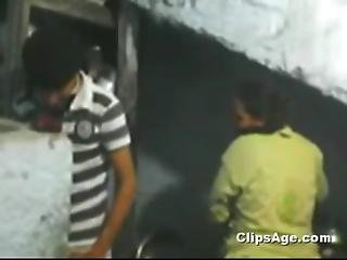 Beautiful Young Neighbor Bhabhi Getting Felt And Enjoyed By Young Desi Guy Mms S