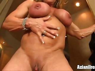 Mature Bodybuilder With Big Clit