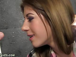 Babe Gets Fetish Facial