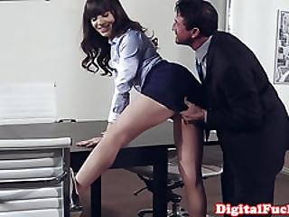 Cum, Cum In Mouth, Desk, Feet, Fetish, Foot, Heels, Masturbation, Mature, Milf, Office, On Top, Oral, Pornstar, Sex, Story
