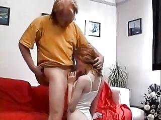 Stp4 Ginger Teen Gets Her Old Guy Stiff