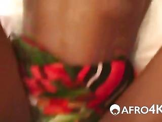 African Chick Gets Pussy Excavated Doggystyle