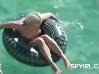 Hottie On A Tire Beach Voyeur.wmv