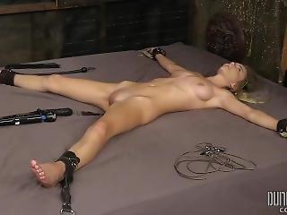 bondage, fétiche, brusque, sexe, Ados
