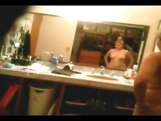 Hidden Camera Blonde Bathroom 2
