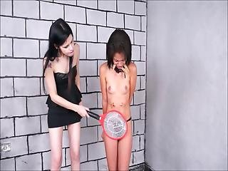 Teen Slaves Latina Bdsm And Femdom Submissive Electro Tortured Punishment By Strict Mistress