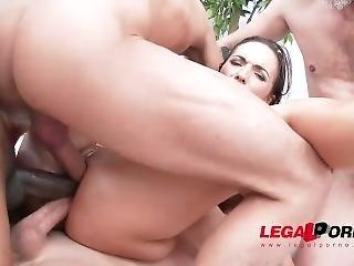 Legalporno Trailer - Kristy Black First Triple Anal