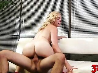 Blonde Teen Office Fuck Miley May