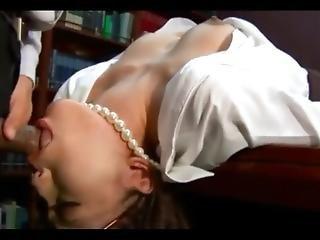Secretary Blowjob!!!  Accompany Fatigue At The Office,,,