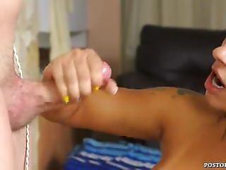 Blonde Nurse Glave Handjob