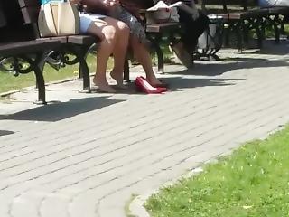Sexy Shoeplay By Women