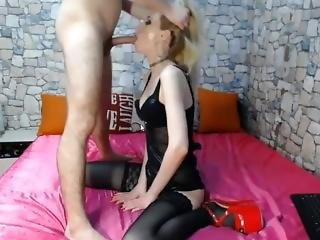 Face Fucked Blonde