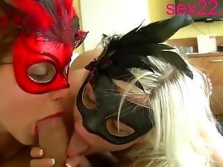 Three In Bed Having Sex