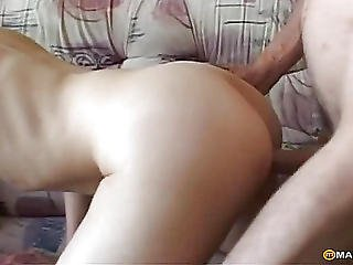 Guy Fucks Bitch In Her Soft Pussy