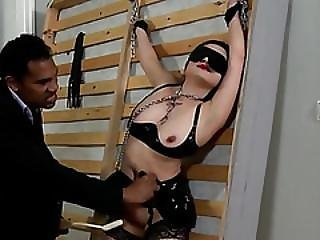 Love Those Special Vibrators In Her Fetish Cunt