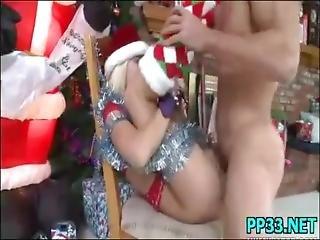 udklædt, fetish, juleaften