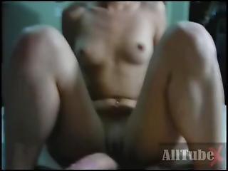 Ponytail Cutie Sucks A Huge Cock And Fucks