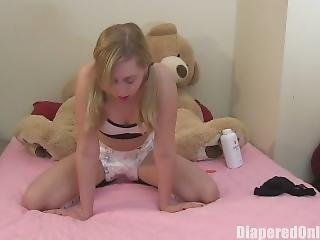 Mandie Diaper Enema