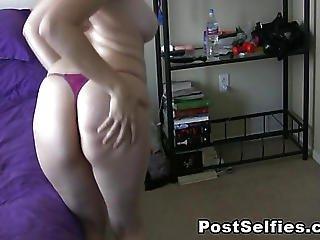 Stunning Babe Strip Dancing