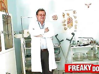Swarthy Gal Manuella Visits Unlicensed Fetish Clinic