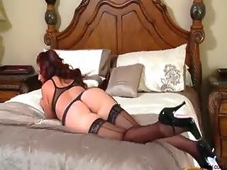 Hot Mom, Masturbation, Milf, Mom, Natural, Orgasm, Pussy, Solo, Stocking, Toys