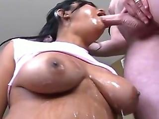 Asian Bimbo Mouthfucked