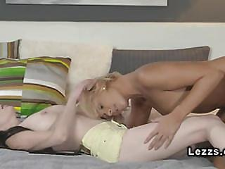 Beautiful, Blonde, Brunette, European, Fingering, Kissing, Lesbian, Oral, Orgasm, Pale, Pussy, Sex, Shaved, Tanned