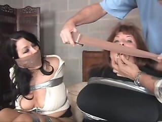 Porão, Bondage, Filha, Mãe