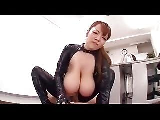 Japanese Huge Tits Fucked In Leather Hitomi Tanaka