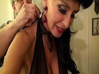 Granny Goes Black-dirty White Slut Gilf Takes 3-way Bbc Fuck Of Her Life