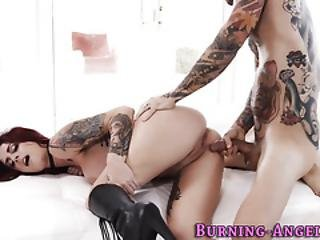 Emo Whore Gets Cumshot