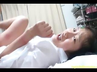 Debut Chan Flattest Chest Ever Jav Idol Chihiro Sano Bound & Scared