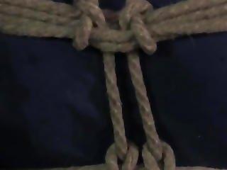 Gstring Tied Sub Gagged During Tt