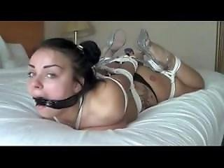 Slave Bound And Hard Face Fucked