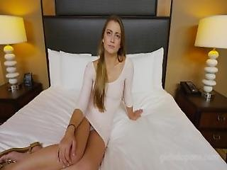 Exclusive%3A 18 Y%2Fo Petite Teen In First And Only Adult Video