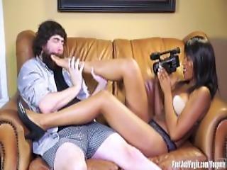 fekete leszbikus lábujjak