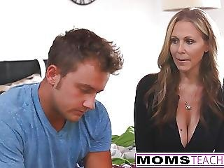 Milf Julia Ann Threeway With Step-son Teen Creampie