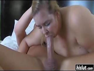 толстушки, блондинка